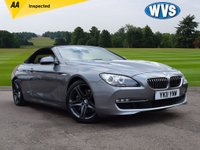 2011 BMW 6 SERIES 3.0 640I SE 2d AUTO 316 BHP £17899.00