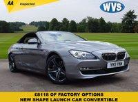 2011 BMW 6 SERIES 3.0 640I SE 2d AUTO 316 BHP £17799.00