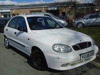 1999 DAEWOO LANOS 1.6 SX 5d 105 BHP £495.00
