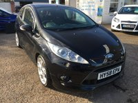 USED 2008 58 FORD FIESTA 1.6 ZETEC S 3d 118 BHP ** NOW SOLD ** NOW SOLD **.