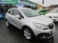 USED 2013 62 VAUXHALL MOKKA 1.7 EXCLUSIV CDTI S/S 5d 128 BHP NO DEPOSIT DEALS AVAILABLE