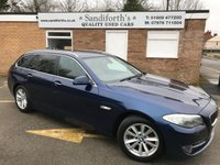 USED 2011 61 BMW 5 SERIES 2.0 520D SE TOURING 5d AUTO REAR ENTERTAINMENT HEATED LEATHER  REAR DVD, HEATED LEATHER, SAT NAV, HUGE SPEC