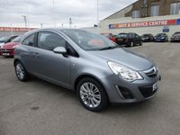 USED 2012 12 VAUXHALL CORSA 1.4 SE 3d AUTO 98 BHP LOW INS * LOW MILEAGE * GOT BAD CREDIT * WE CAN HELP
