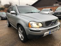 USED 2010 60 VOLVO XC90 2.4 D5 R-DESIGN SE AWD 5d AUTO 185 BHP Cambelt just been changed.