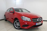 USED 2015 15 MERCEDES-BENZ A CLASS 1.5 A180 CDI BLUEEFFICIENCY SPORT 5DR AUTOMATIC 109 BHP FULL SERVICE HISTORY + HALF LEATHER SEATS + BLUETOOTH + CRUISE CONTROL + MULTI FUNCTION WHEEL + AIR CONDITIONING + 17 INCH ALLOY WHEELS