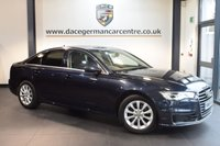 USED 2015 15 AUDI A6 2.0 TDI ULTRA SE 4DR 188 BHP + FULL LEATHER INTERIOR + SAT NAV + AIR CONDITIONING + ELECTRIC MIRRORS + ALLOY WHEELS +