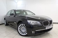 USED 2010 60 BMW 7 SERIES 3.0 730D SE 4DR AUTOMATIC 242 BHP SERVICE HISTORY + SAT NAVIGATION PROFESSIONAL + HEATED LEATHER SEATS + PARKING SENSOR + BLUETOOTH + CRUISE CONTROL + MULTI FUNCTION WHEEL + 18 INCH ALLOY WHEELS