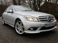 2010 MERCEDES-BENZ C CLASS 1.8 C250 CGI BLUEEFFICIENCY SPORT 4d AUTO 204 BHP £9995.00