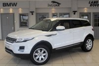 USED 2013 62 LAND ROVER RANGE ROVER EVOQUE 2.2 ED4 PURE 5d 150 BHP FULL LEATHER SEATS + SAT NAV + 18 INCH ALLOYS + BLUETOOTH + HEATED FRONT SEATS + CRUISE CONTROL + DAB RADIO
