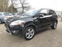 USED 2008 58 FORD KUGA 2.0 ZETEC TDCI AWD 5d 134 BHP # FULL FORD SERVICE HISTORY # 3 KEYS # 2 OWNER FROM NEW #