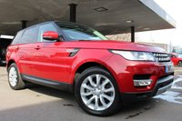 2017 LAND ROVER RANGE ROVER SPORT 2.0 SD4 HSE SUV 5DR DIESEL COMMANDSHIFT AWD 238 BHP £52990.00