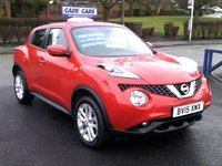 USED 2015 NISSAN JUKE 1.2 ACENTA DIG-T 5d 115 BHP FINANCE AVAILABLE EVEN IF YOU HAVE POOR CREDIT.