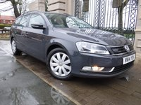USED 2014 14 VOLKSWAGEN PASSAT 1.6 BLUEMOTION TDI 5d 104 BHP *** FINANCE & PART EXCHANGE WELCOME *** 1 OWNER £ 30 ROAD TAX STOP / START BLUETOOTH PHONE