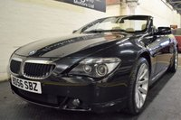 USED 2006 56 BMW 6 SERIES 3.0 630I SPORT 2d AUTO 255 BHP CONVERTIBLE