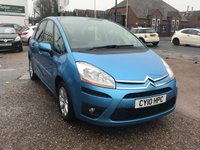 2010 CITROEN C4 PICASSO 1.6 VTR PLUS HDI 5d 107 BHP  £SOLD