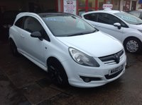 2010 VAUXHALL CORSA 1.2 LIMITED EDITION 3d 83 BHP £SOLD