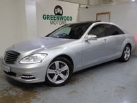 2011 MERCEDES-BENZ S CLASS 3.0 S350 CDI BlueTEC L 7G-Tronic Plus 4dr £12494.00