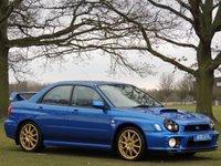 2001 SUBARU IMPREZA 2.0 WRX UK300 4d 245 BHP £7990.00