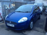 USED 2007 07 FIAT GRANDE PUNTO 1.2 ACTIVE 8V 3d 65 BHP Ideal first car, excellent example. Must be seen.