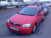 USED 2000 X VAUXHALL ASTRA 1.6 CLUB 5d 74 BHP Part exchange to clear, drives superb.
