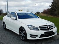2012 MERCEDES-BENZ C CLASS 2.1 C220 CDI BLUEEFFICIENCY AMG SPORT 2d AUTO 170 BHP £12490.00