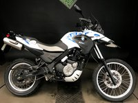 2015 BMW G650GS SERTAO. 2015. 6920 MILES. ALARM. FSH. ABS. HEATED GRIPS £3750.00