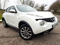 USED 2013 13 NISSAN JUKE 1.5 TEKNA DCI 5d LEATHER CAMERA NAV