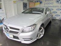 2013 MERCEDES-BENZ CLS CLASS 2.1 CLS250 CDI BLUEEFFICIENCY AMG SPORT 4d AUTO 204 BHP £16895.00