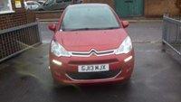 2013 CITROEN C3 1.4 E-HDI AIRDREAM VTR PLUS EGS 5d AUTO 67 BHP £6695.00