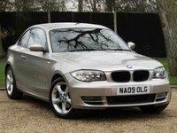 2009 BMW 1 SERIES 2.0 120D SE 2d 175 BHP £6250.00