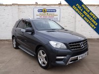 2013 MERCEDES-BENZ M CLASS 2.1 ML250 BLUETEC AMG SPORT 5d AUTO 204 BHP £18988.00