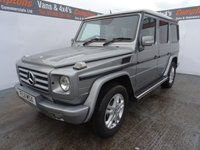 USED 2011 11 MERCEDES-BENZ G 350 3.0 G350 BLUETEC RHD 5d AUTO 211 BHP WITH ENTERTAINMENT PACK AMAZING VEHICLE WITH LOTS OF GOODIES INCLUDING PRIVACY GLASS ALLOYS AND CHROME SIDE STEPS