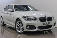 2015 BMW 1 SERIES 2.0 120D M SPORT 5d AUTO 188 BHP £17990.00
