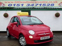 USED 2009 09 FIAT 500 1.2 POP 3d 69 BHP FULL SERVICE HISTORY, IDEAL FIRST CAR, 46,000 MILES
