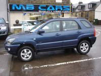 USED 2009 58 KIA SPORTAGE 2.0 XS CRDI 5d 138 BHP 1 LADY OWNER, ONLY 42000 MILES FROM NEW, F,S,H