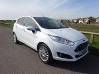 2014 FORD FIESTA 1.6 TITANIUM 5d AUTO 104 BHP 1 OWNER WHITE 11900 miles £10195.00