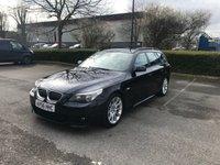 2006 BMW 5 SERIES 2.5 525I M SPORT 5d AUTO 215 BHP £SOLD