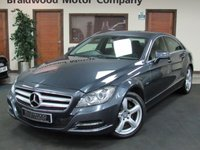 2012 MERCEDES-BENZ CLS CLASS 3.0 CLS350 CDI BLUEEFFICIENCY 4d AUTO 265 BHP £11999.00