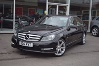 USED 2012 12 MERCEDES-BENZ C CLASS 3.0 C350 CDI BLUEEFFICIENCY SPORT 4d 265 BHP