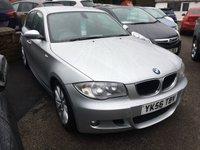 2006 BMW 1 SERIES 2.0 120D M SPORT 5d 161 BHP LOW MILEAGE, EXCELLENT MPG, GREAT CONDITION £4689.00