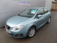 2009 SEAT IBIZA 1.4 SE 5d 85 BHP, LOW MILEAGE, S/HISTORY, AIR CON ALLOYS £4495.00