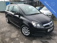 USED 2006 06 VAUXHALL ZAFIRA 1.9 CLUB CDTI 5d 118 BHP Diesel Seven Seater - Only Two Owners From New