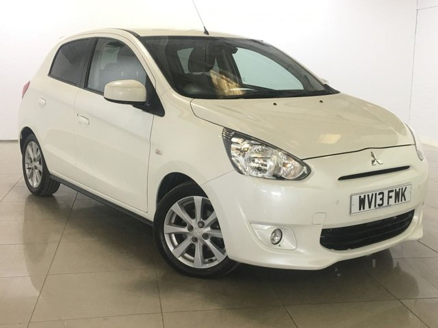 View our 2013 13 MITSUBISHI MIRAGE 1.2 3 5d 79 BHP
