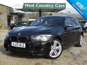 2013 BMW 1 SERIES 2.0 120D M SPORT 5d 181 BHP £11500.00