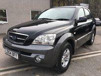 2004 KIA SORENTO 2.5 XE CRDI 5d AUTO 139 BHP £2695.00