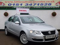 USED 2009 59 VOLKSWAGEN PASSAT 2.0 HIGHLINE TDI 4d 138 BHP DIESEL, FULL LEATHER, SERVICE HISTORY