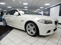 2013 BMW 5 SERIES 520D M SPORT AUTO 181 BHP £16450.00
