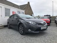 USED 2013 63 TOYOTA AVENSIS Icon Tourer 2.0 D-4D 5dr ( 126 bhp ) One Previous Owner Full Toyota Service History Only £30 Road Tax