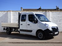 USED 2013 63 VAUXHALL MOVANO 2.3 F3500 L3H1 CRC CDTI 1d 123 BHP Full History 7 Seats Dropside 0% Deposit Finance Available