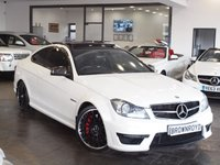 USED 2012 62 MERCEDES-BENZ C 63 AMG 6.2 C63 AMG 2d 457 BHP PAN ROOF+SAT NAV+R-CAM+LEATHER
